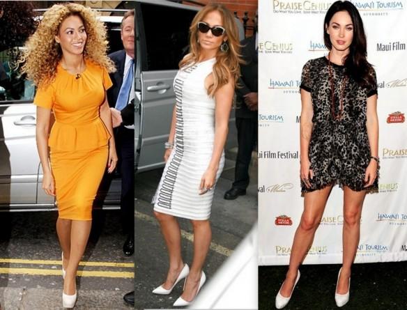 Beyoncé - Jennifer Lopez - Megan Fox